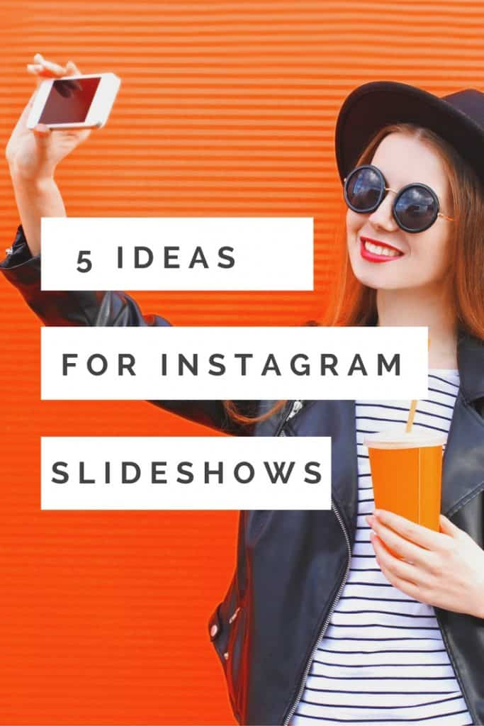 Instagram introduced Instagram slideshows >Her are tips to use the new Instagram albums and 5 ideas on how bloggers businesses and brands can use Instagram Slideshows