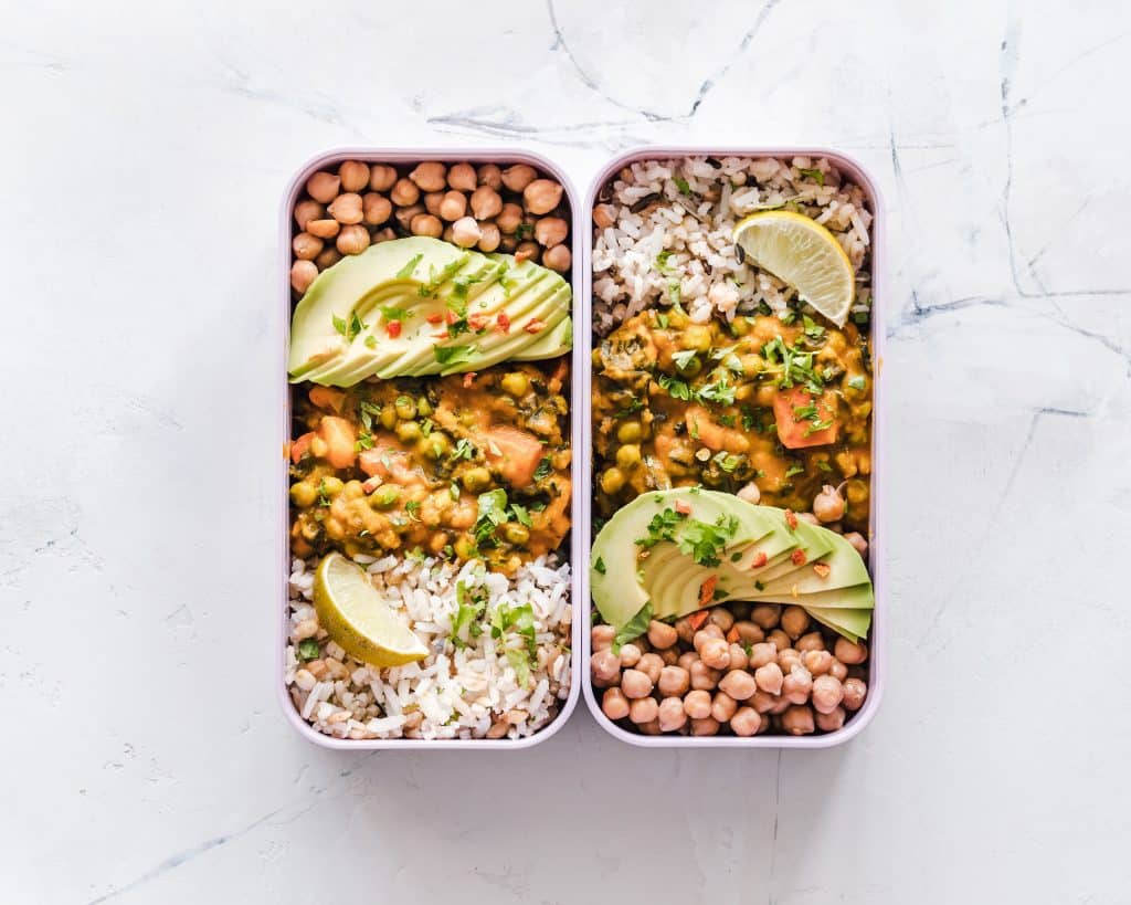 containers are key for easy meal prep and planning