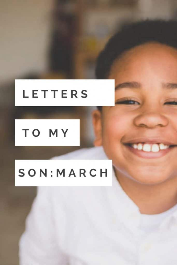Letters to my son, a monthly photography project idea. Great idea to create for your children