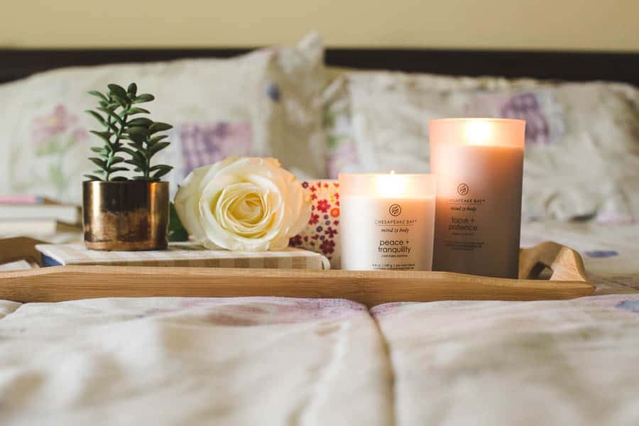 self care with Chesapeake Bay candles