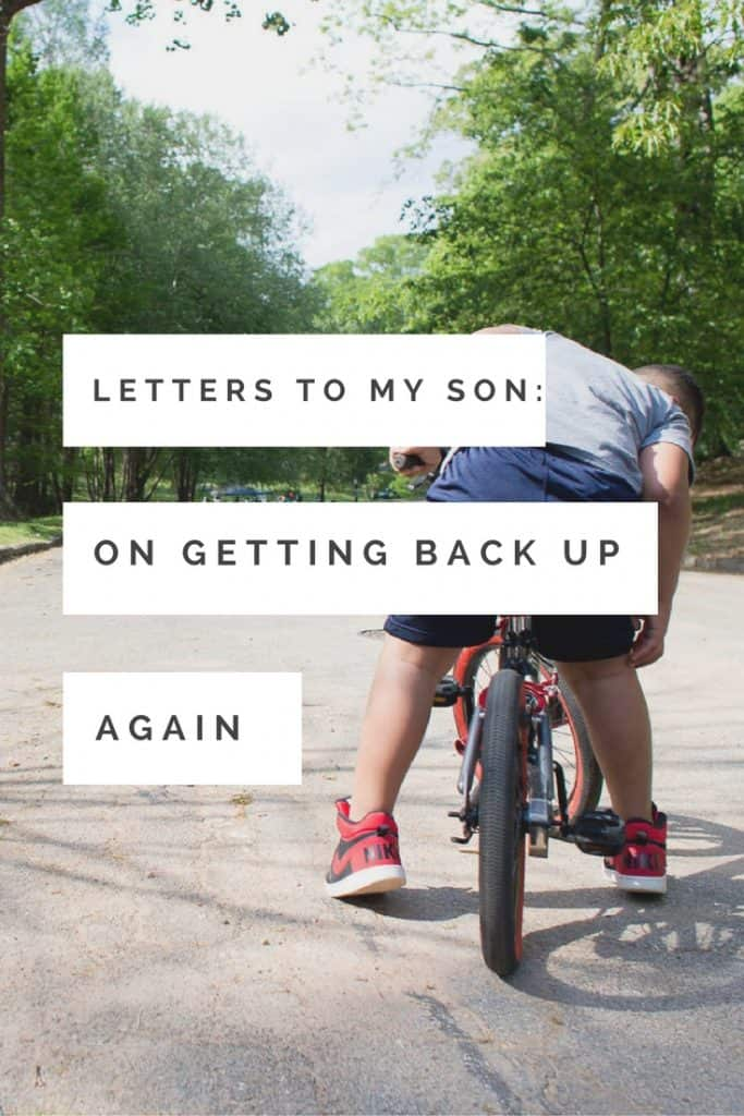 This month's Letters to My Son Photography Project focuses on a lesson my son finally learned. Sometimes, children have to learn things on their own.