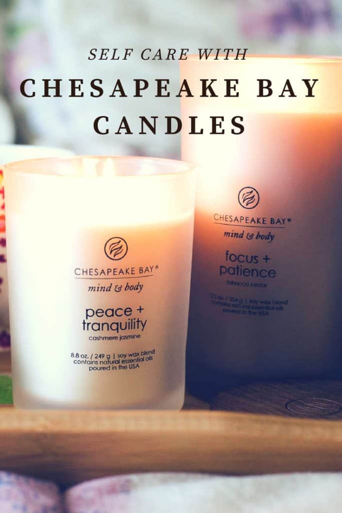 Self care is important! Check out a few ways to use Chesapeake Bay Candles in your self care.