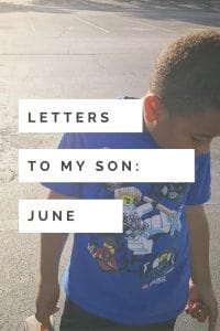 Letters to my son: Dealing with food allergies as a kid is not easy! Talking to my son this month about being different.