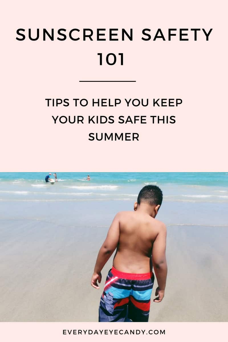 Summertime can be so much fun! Make sure you check out these sunscreen safety tips for moms this summer!  #sponsored #summer #summertime #sunscreen