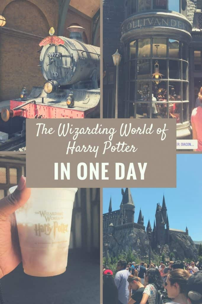 YOu can do the Wizarding World of Harry Potter in one day! Tips on how we did it so you can plan your next Family Vacation