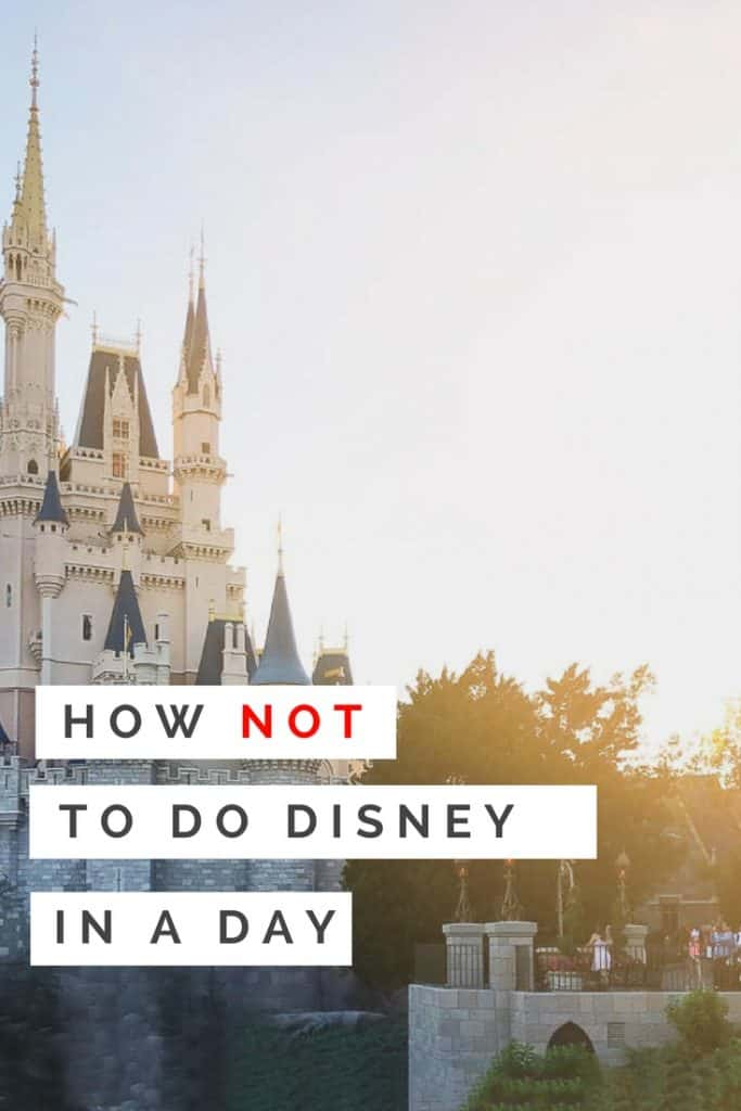 I had all the plans to present to you my tips on how to do Disney in a day. But life and reality set in. Here is our one day trip to Walt Disney World. Enjoy.