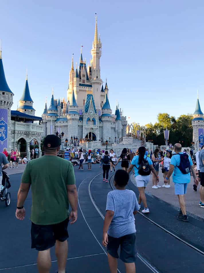 Disney world summer vacations are full of crowds!