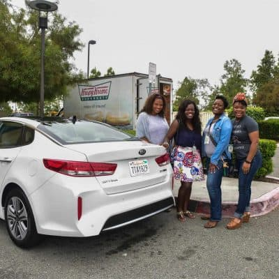When You and Your Girls Drive a Kia….