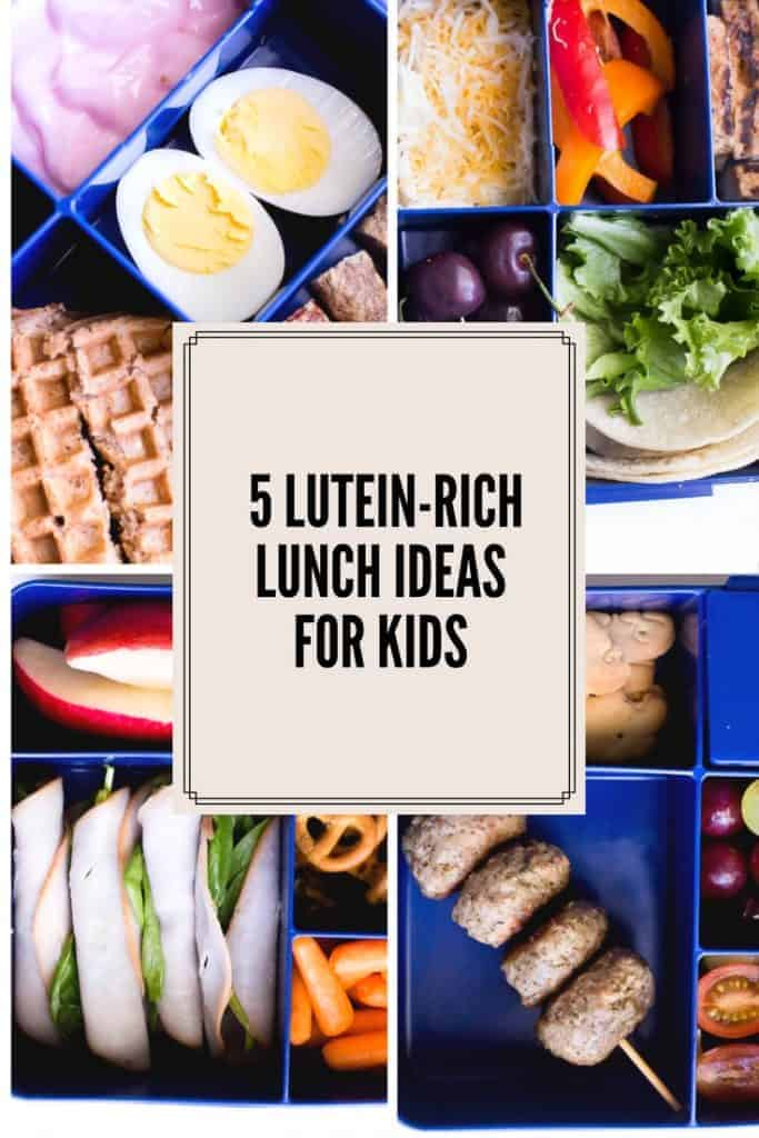 It's Back to School time and if you are looking for healthy lunch ideas, look no further. You'll love these 5 easy healthy gluten-free lunch ideas for kids! They are kid friendly and mom approved! #AD