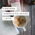 It's FALL!!!! Try this new Cinnamin Pumpkin Pie Spice latte from Celebrity Chef and Food Network Personality Alex Guarnaschelli, and @Folgers #pumpkinspice #pumpkin #fall #coffee
