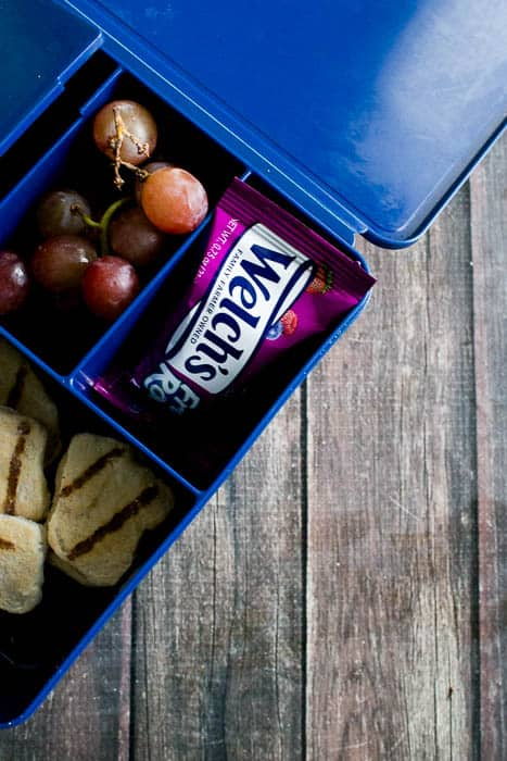 welch's fruit rolls are also perfect for lunch!