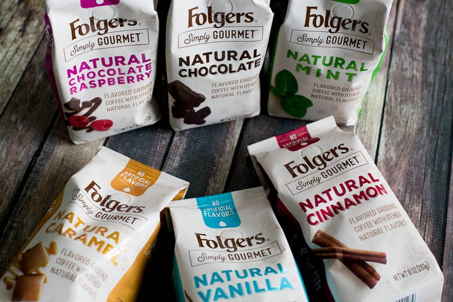 All new folgers gourmet coffee flavors