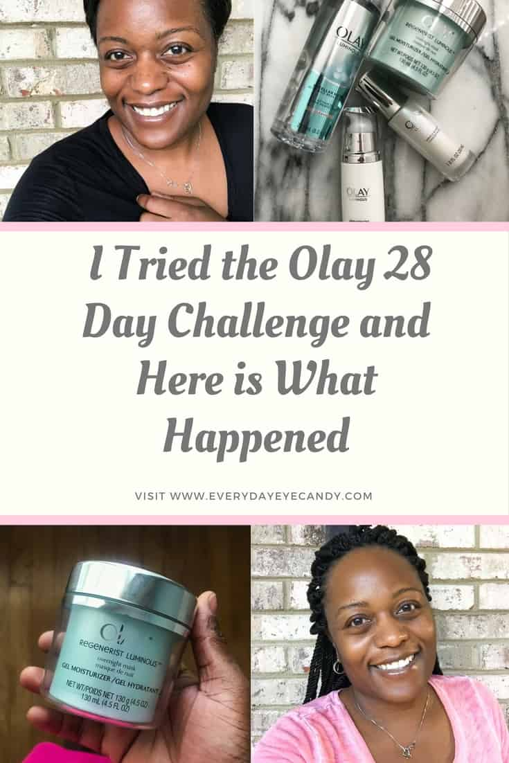 Have you taken the #Olay28Day Challenge? I did and here are my results! #ad
