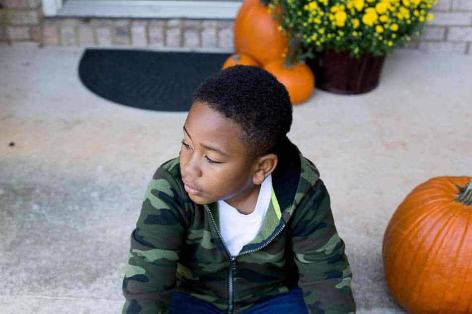 Letters to my son october