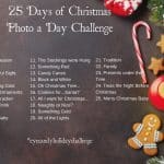3rd Annual 25 Days of Christmas Photo A Day Challenge