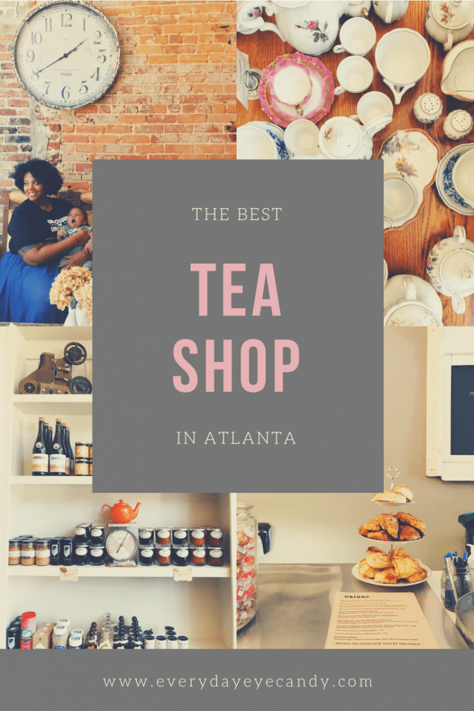 If you Drink tea and are in Atlanta, make sure to check out this highly Instagrammable tea shop.