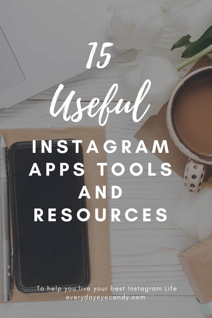 15 of the best Instagram Editing apps, tools for video on Instagram and resources to take your Instagram Account to the next level! #instagram #instagramapps