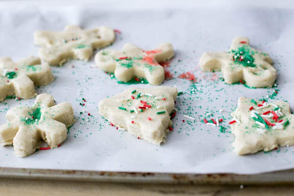 making christmas cookie recipes