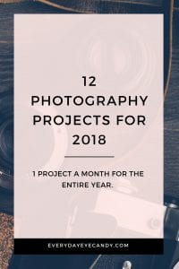 Check out these 12 photography project ideas for the new year to help improve your photography skills.