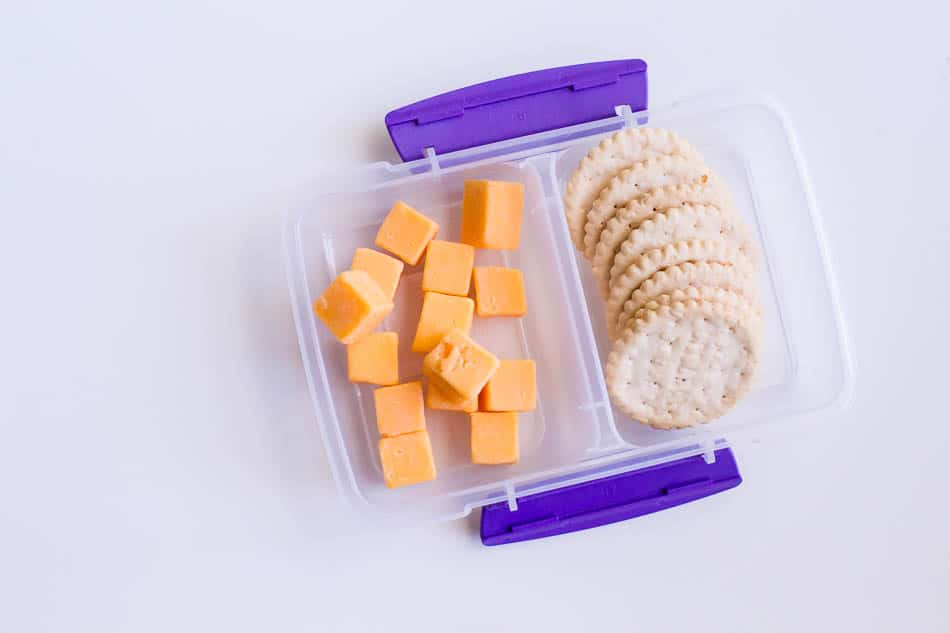 after school snack ideas cheese and crackers