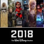 The 2018 Disney Movie Lineup