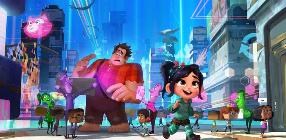 Wreck it Ralph 2 2018 Disney Movie LIne up