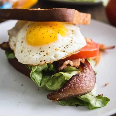 Pookah's Gluten Free Breakfast BLT
