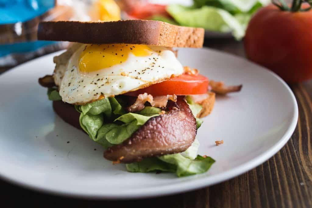 gluten free breakfast BLT