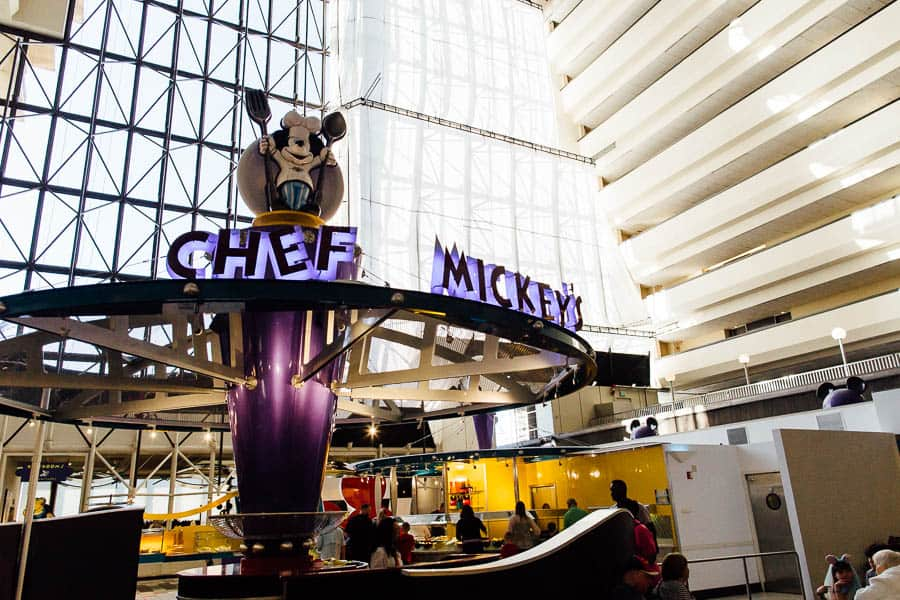 Eat gluten free at disney world chef mickey's character breakfast