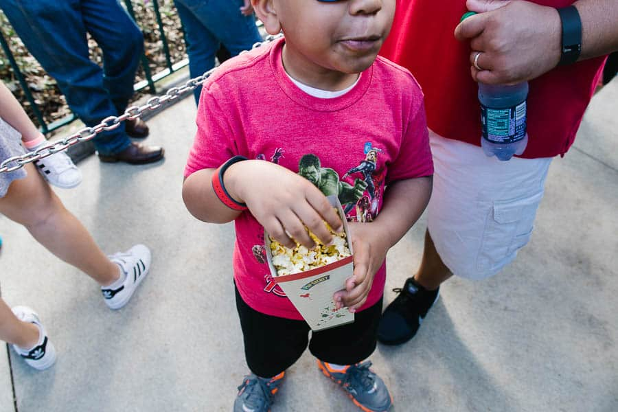 popcorn is one of the snacks you can eat gluten free at disney world