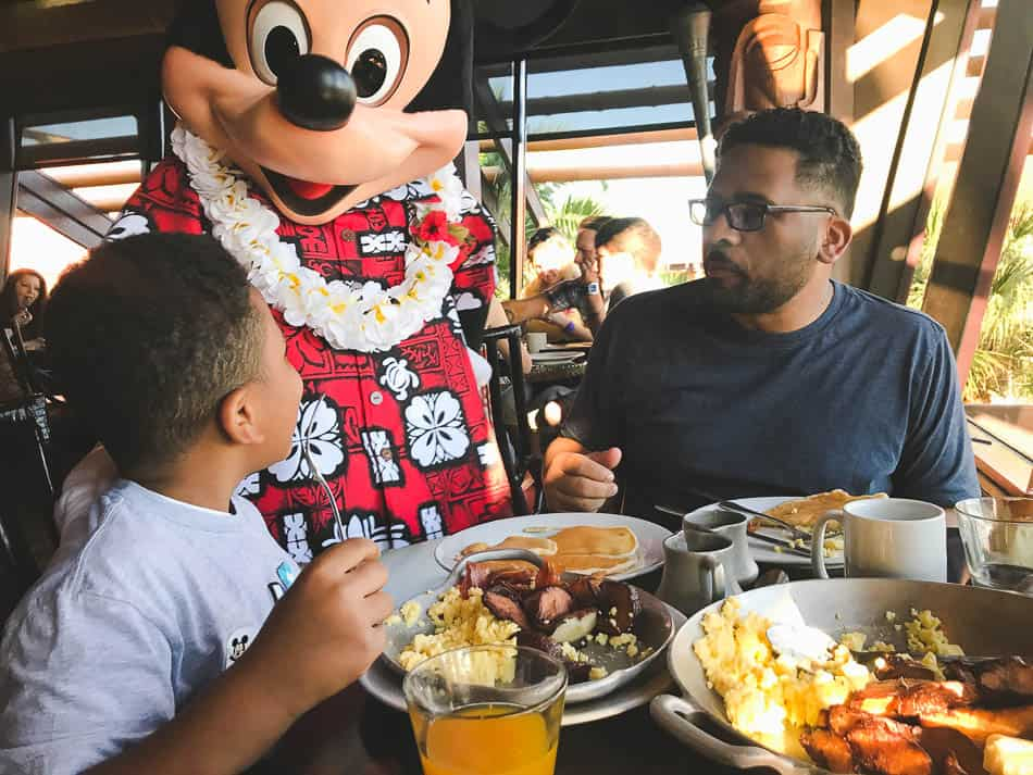 eat gluten free at disney world ohana