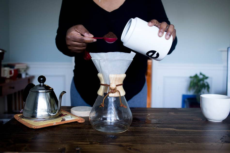 pour over coffee techniques at home