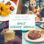 How To Eat Gluten Free at Disney World