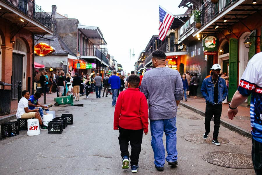 my guys in the french quarter