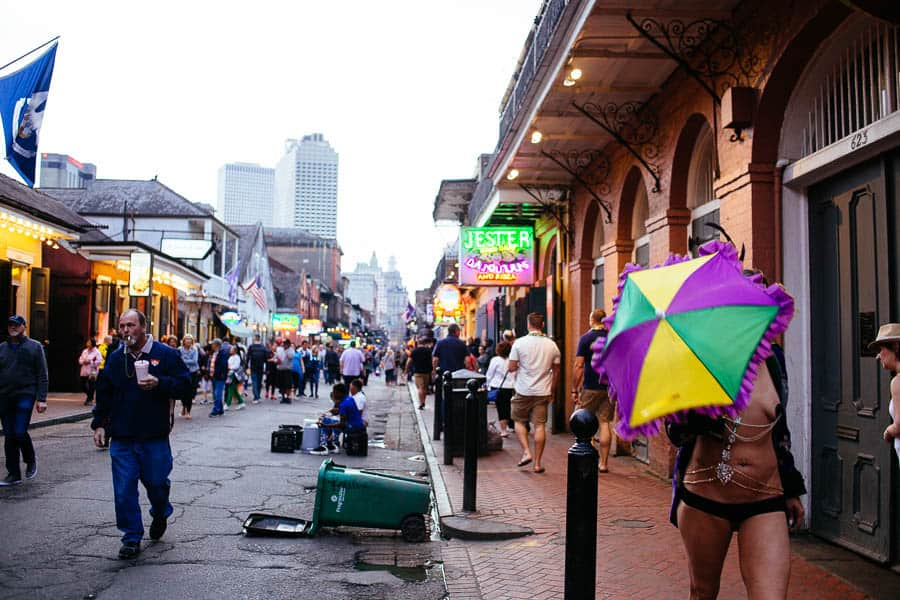 photos from the french quarter