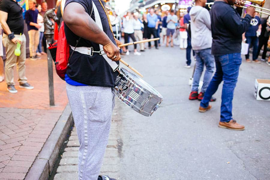 musicians in the french quarter