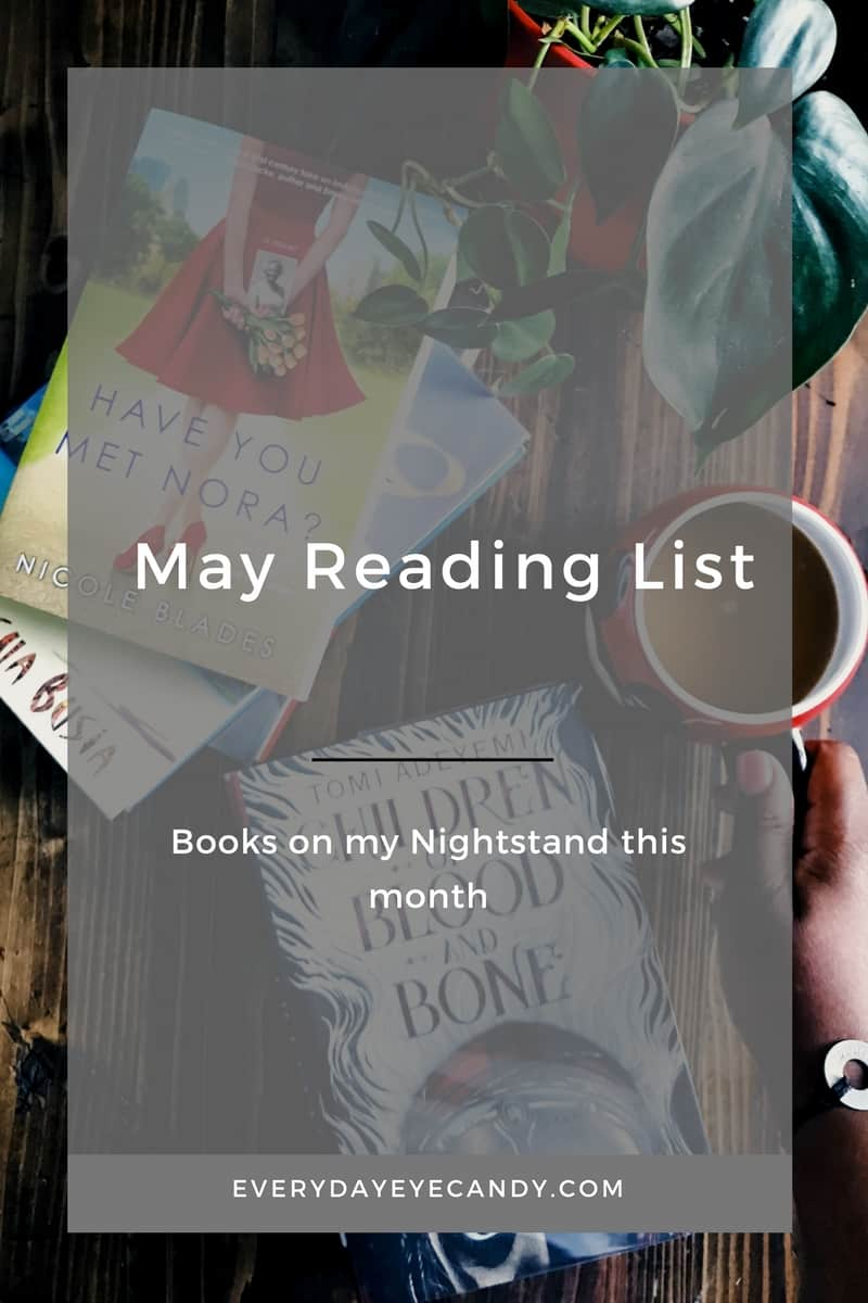 reading list of books for the month of may