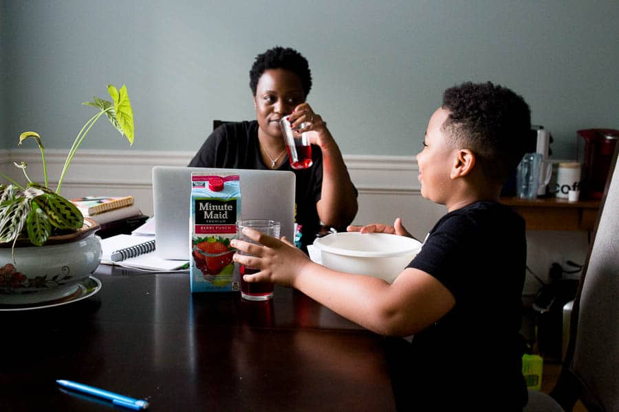 photograph everyday moments with minute maid.
