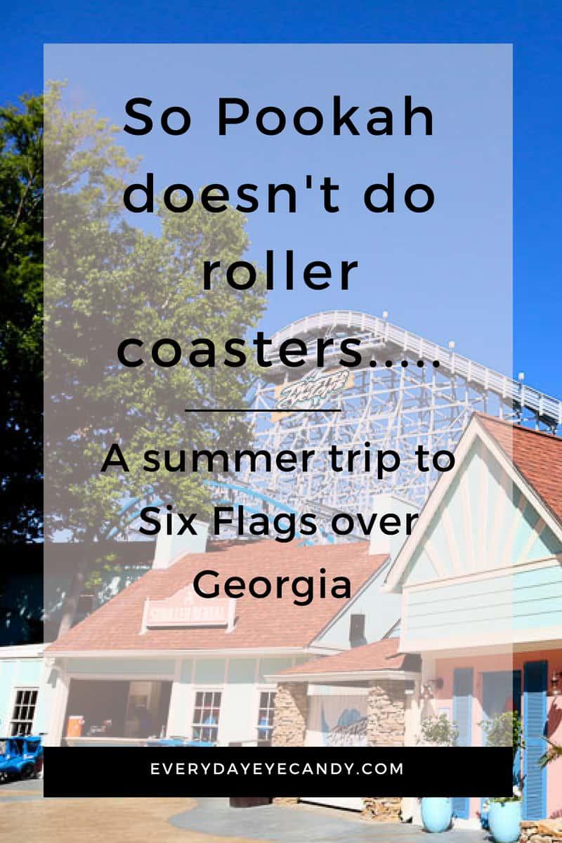 A trip to six flags over Georgia #familytravel #