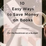 ways to save money on books