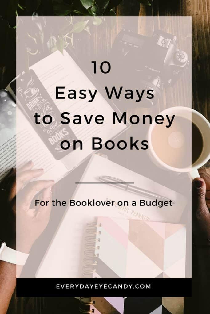 ways to save money on books
