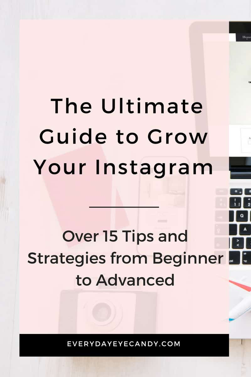 Check out this Ultimate Guide for Instagram tips for your business. Learn from over 15 actionable Instagram Tips for Business to grow your account today with the best hashtags for Instagram for your business, ways to grow your engagement, instagram stories and more. #instagram #instagramtips #instagramstories