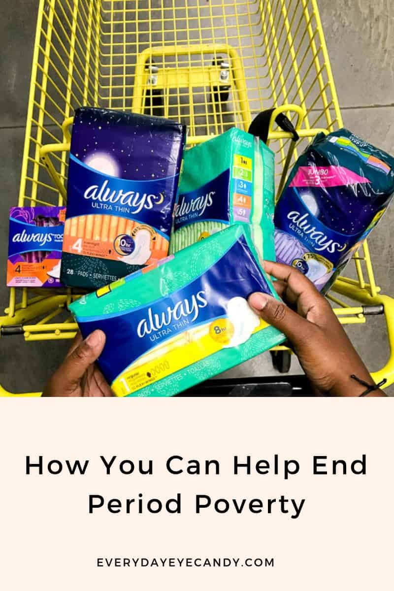 Team up with Always and Dollar General to help end period poverty #ad #endperiodpoverty @always