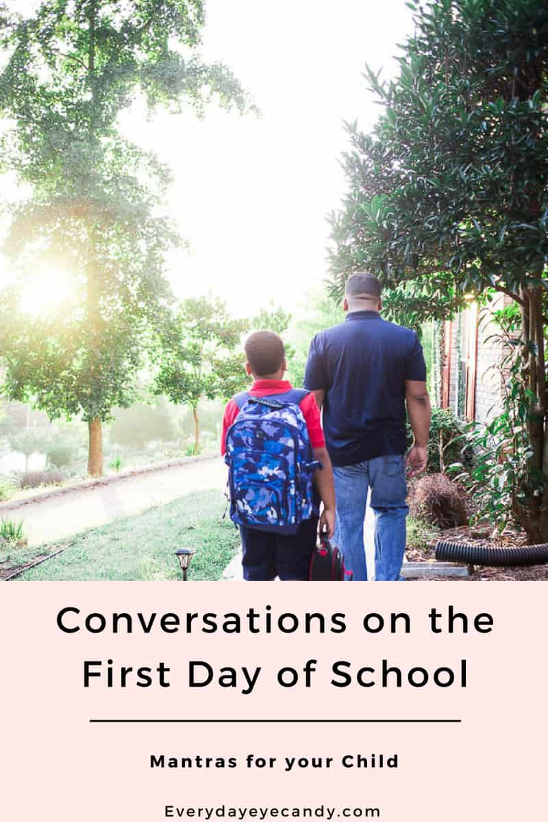 Real conversations on the first day of school are important. And so is giving our kids confidence to do their best. because these real conversations are good. and real #thisisGOOD #sponsored by @minutemaid_us #parenting #mantras #firstdayofschool #backtoschool