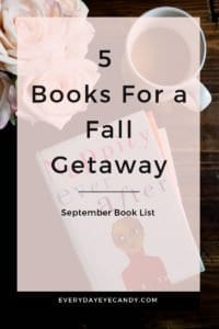 5 books for a fall giveaway