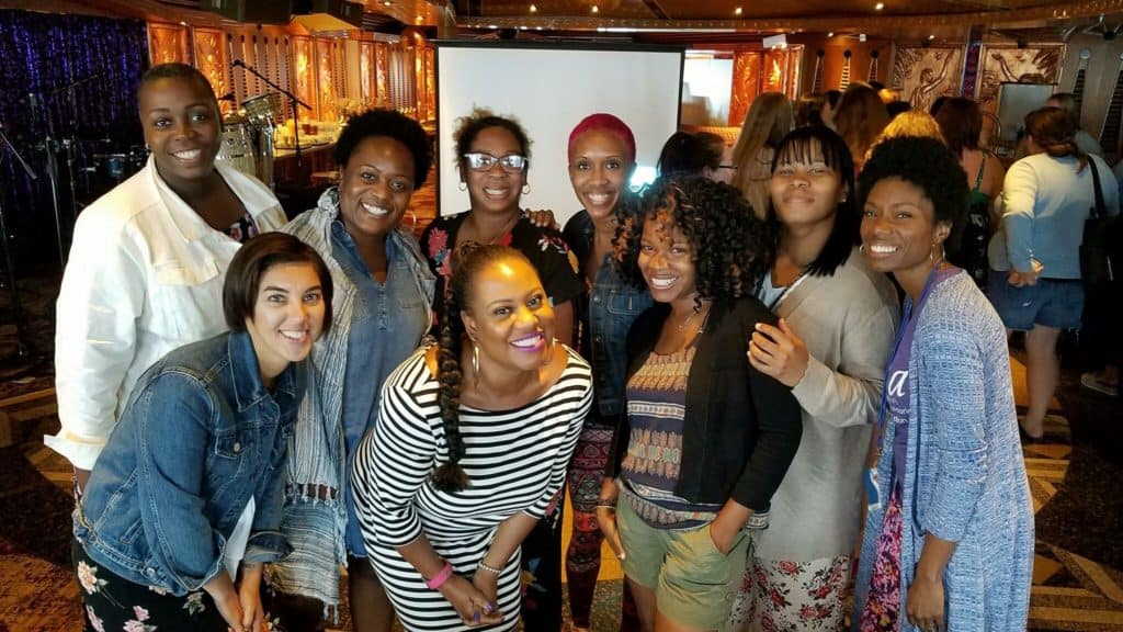 Black girl magic at the permission to hustle retreat