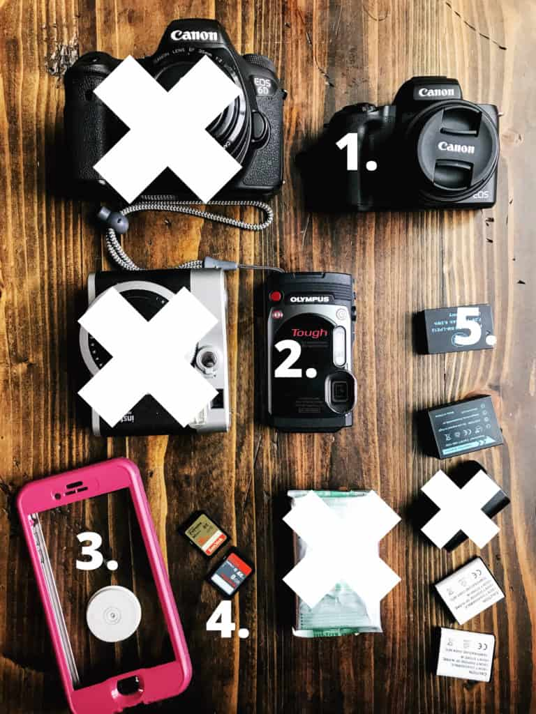 travel photography gear for family photography