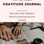 Tips to create a november gratitude journal