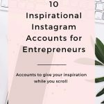 10 Inspirational Instagram Accounts for Entrepreneurs