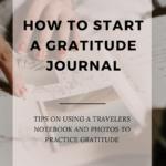 How to Start a November Gratitude Journal.